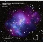 MACS J0717 galaxy cluster
