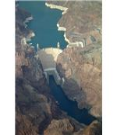 Hoover Dam Nevada Luftaufnahme