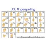 asl fingerspelling alphabet american sign language