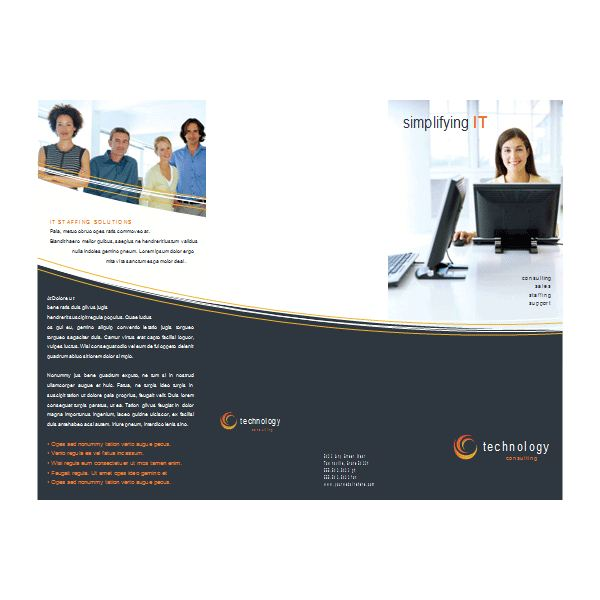 How To Create A Brochure With Microsoft Word