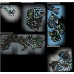 Frostmaws Burrows Map Guild Wars