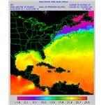 Temperature Variation of Sea Water