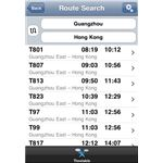 Pocket Timetable iPhone App