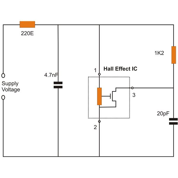 how hall effect sensors work typical hall effect sensor wiring details image