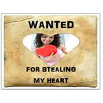 Heart Thief: Wanted Poster Template