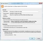 Outlook 2007 RSS Feed Options