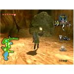Link gets ready to use a bomb