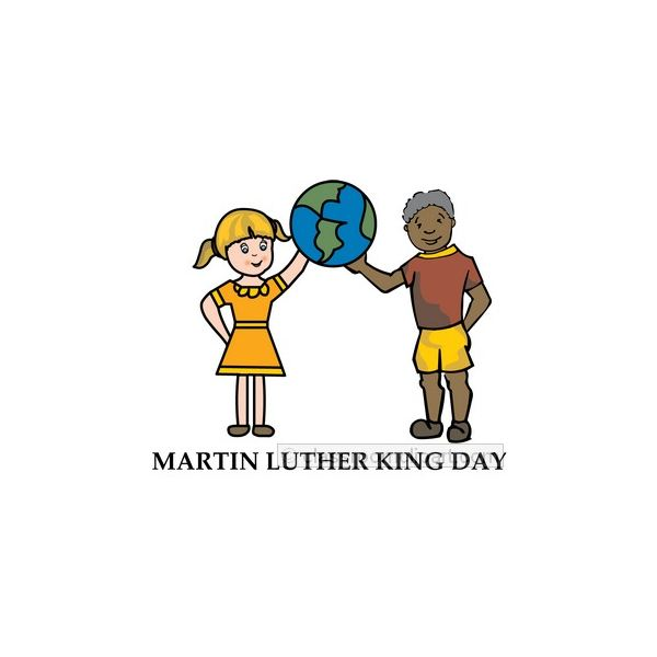 clip art martin luther king jr day - photo #10