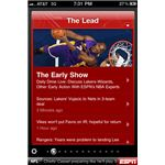 ESPN ScoreCenter iPhone App