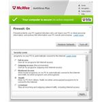 McAfee Antivirus Plus Guide: Firewall Protection Settings