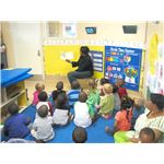 Preschool prepares kids for Kindergarten.