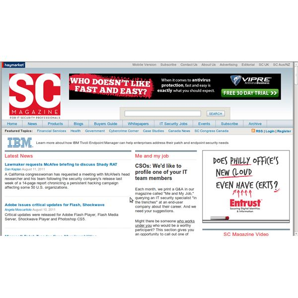 articles concerning personal pc facts security