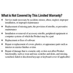 Laptop Warranty Coverage