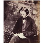 Lewis Carroll Self Portrait 1856 circa