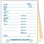 Screenshot Great American Business Forms Commission Voucher