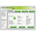 Digital Defender Main Interface