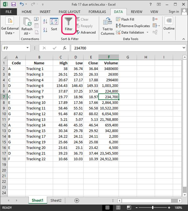 how to delete blank rows in excel 2013