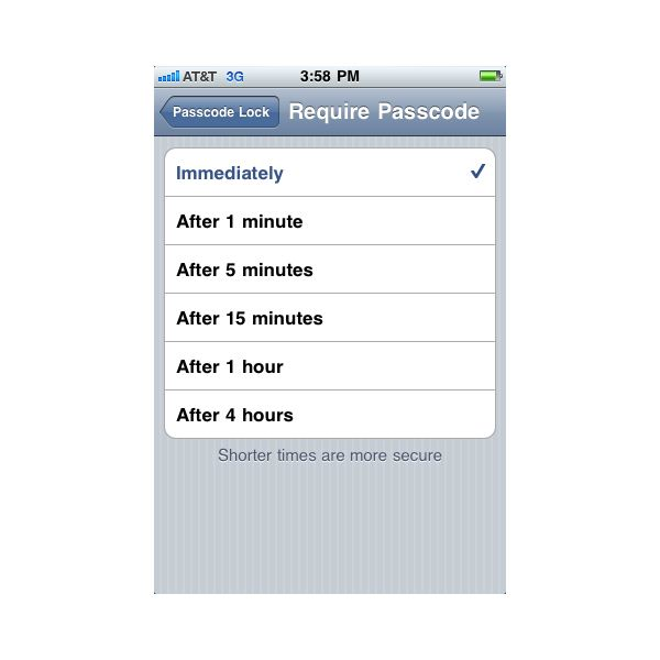 how to change your 4 digit passcode on iphone