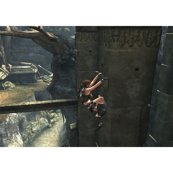 tomb raider underworld how to get crocodile head