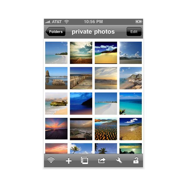 Ios how to create iphone photofolder like in photos for How to design an iphone app