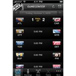 NHL GameCenter 2010 iPhone App