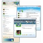 Windows Live Messenger - Drag and Drop File Share