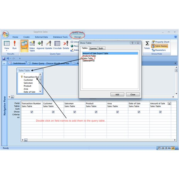 How to calculate with a microsoft access parameter query for Query design window