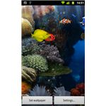 Aquarium Interactive Wallpaper