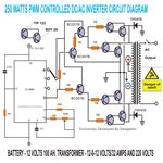 250 to 5000 Watts PWM DC AC 220V Power Inverter Circuit, Image