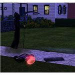 The Sims 3 vampire and grim reaper