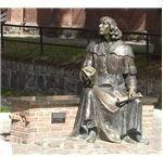 Copernicus Statue in Olsztyn