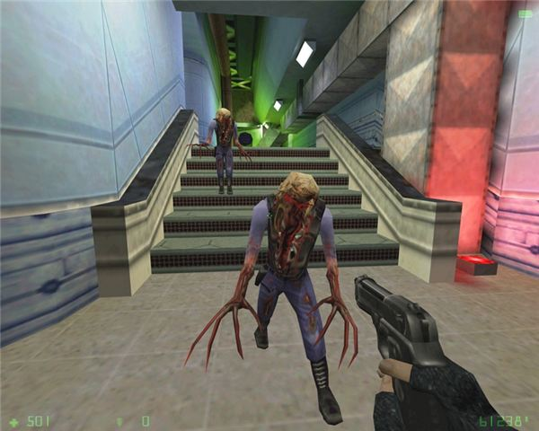 Zombies in Half-Life