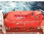 Lifeboat with Retroreflector