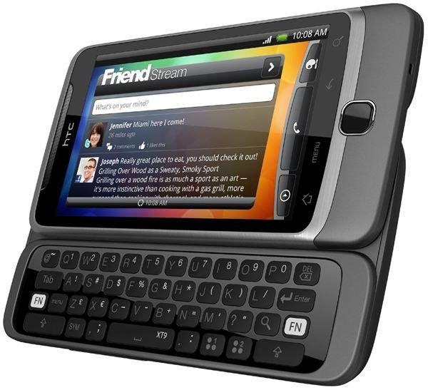 HTC Desire Z (T-Mobile G2)