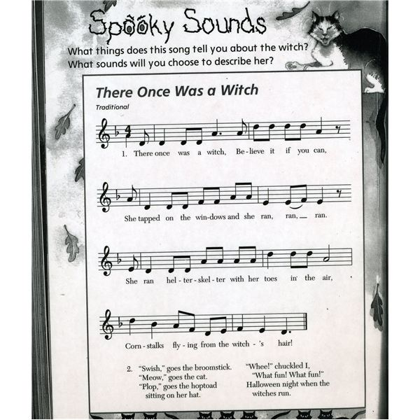 Fun Halloween Songs for Kids to Use in the Classroom