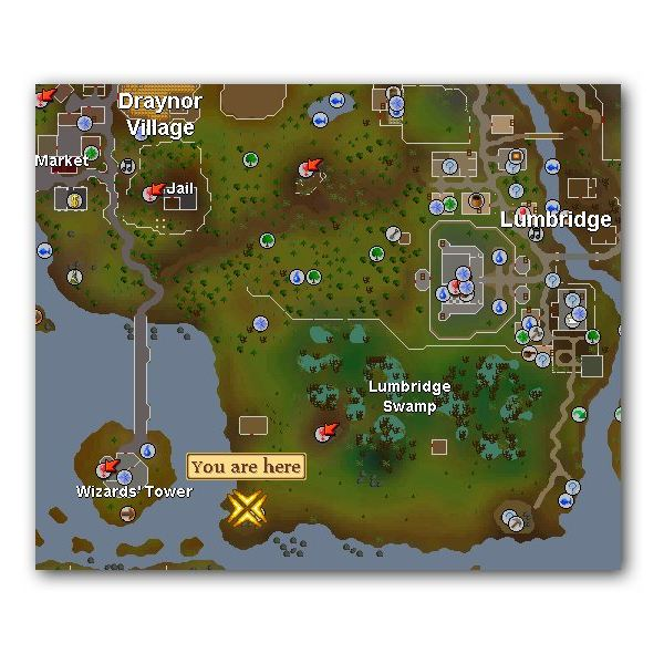 Runescape where to mine coal