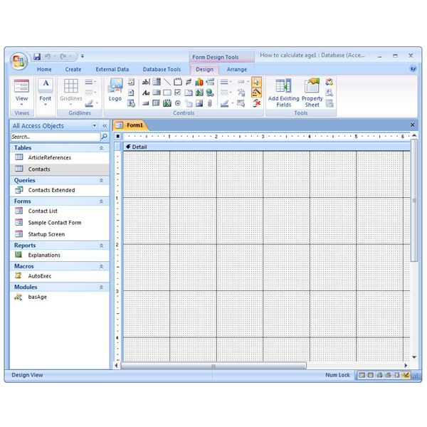how to create xfa forms