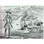 Bartholomew Roberts from 1724 Book History of the Pyrates - wikipedia