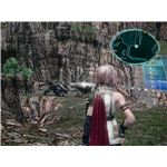 Final Fantasy XIII: Gate encounter before Mah'habara, the next story location from Archlyte Steppe.