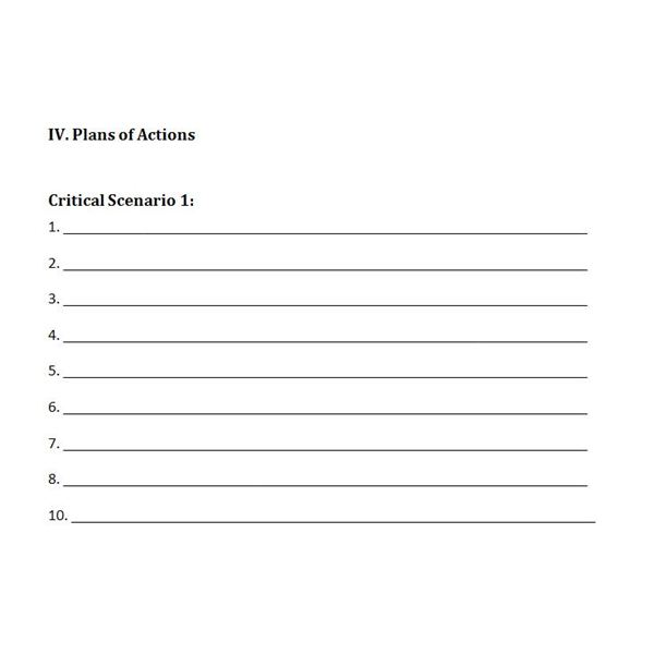 Free Downloadable Template: A Plan for Crisis Management