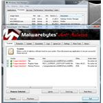 MBAM detects and remove active fake antivirus software