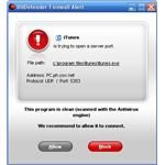 Firewall Alert Pop-Up