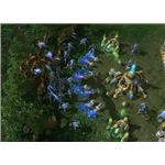 Starcraft 2 Stalker - massed Stalkers attack Mutalisks