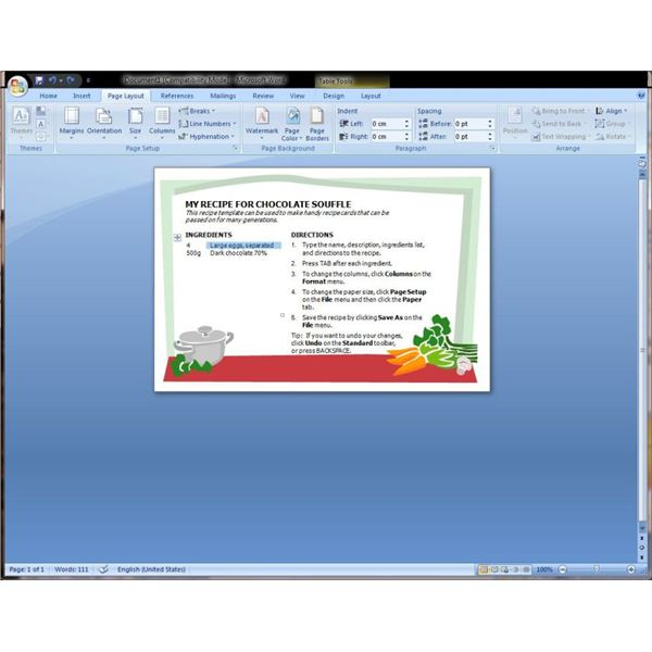 Microsoft Word Recipe Template Help - Find and Download Microsoft ...