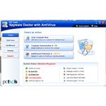 User Interface of Spyware Doctor with AntiVirus