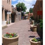 Taos Alley by Misty Faucheux