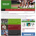 FreeWebsiteTemplates - Football Template