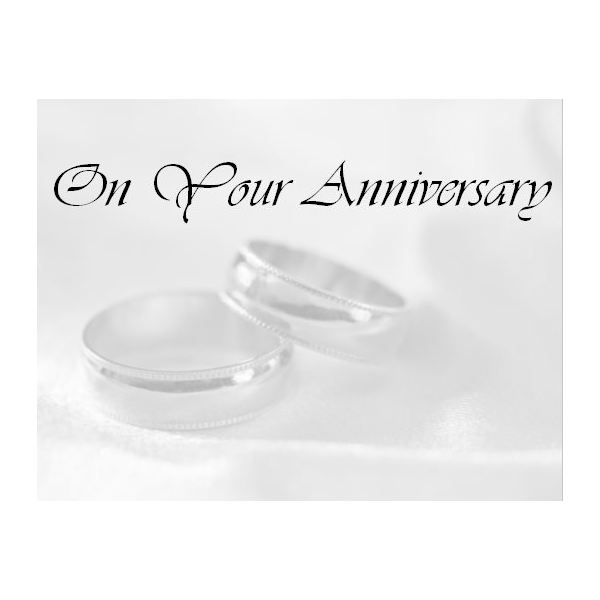 Momentous Anniversary Card  Print Your Own Anniversary Card