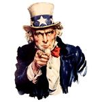 Uncle Sam by US Government Wikimedia Commons
