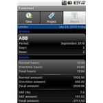 Timesheet - Android timecard app